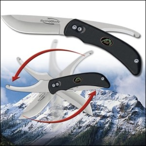 swing blade outdoor edge knife triple s outdoors